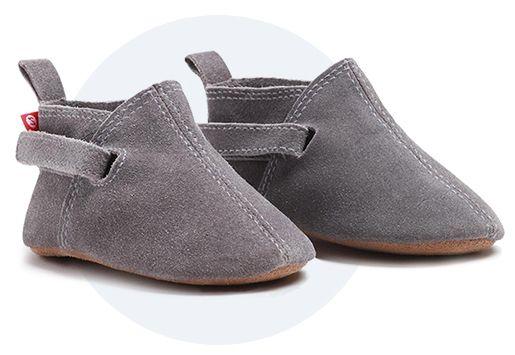 Grijze baby schoenen